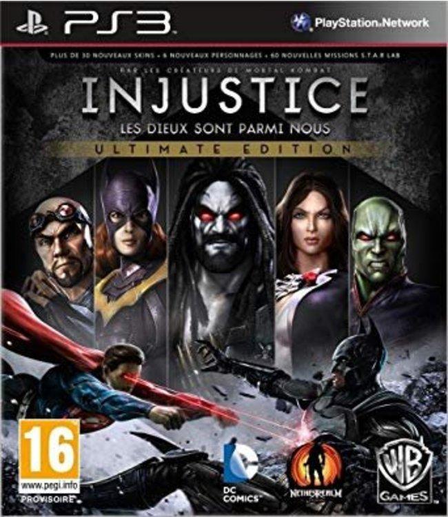 Sony Injustice : Les Dieux Sont Parmi Nous