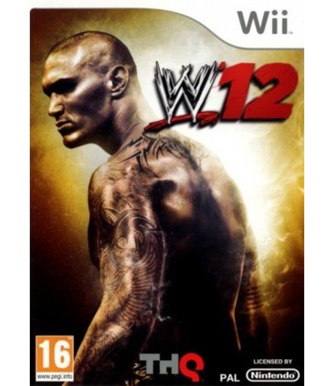 Nintendo WWE'12