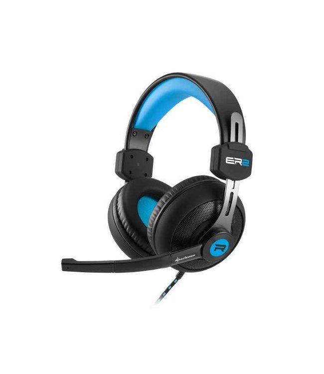 Sharkoon Casque Gaming Rush ER2 Pour PC ( Noir / Bleu )