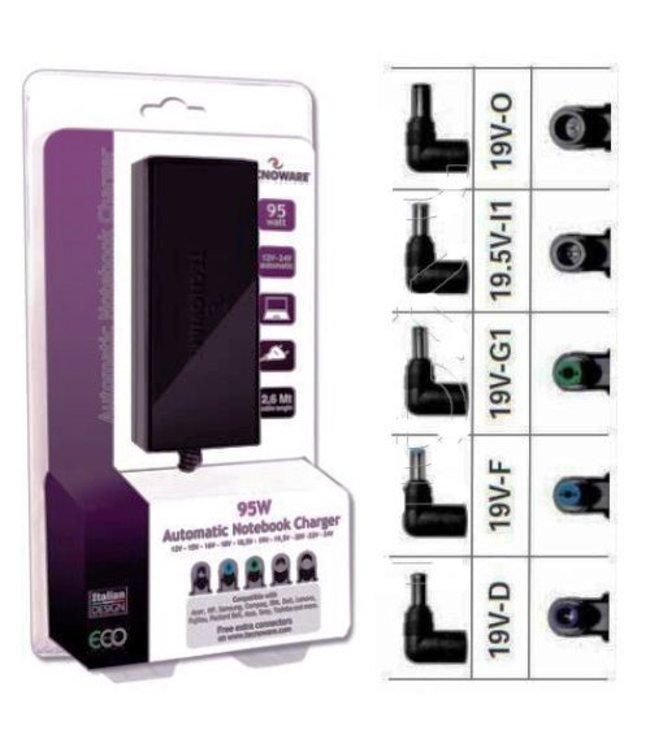 Tecnoware Chargeur Universel Pc Portable Tecnoware 95W