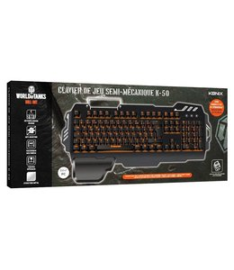 Konix Clavier Semi-Meca Konix K-50 ( World Of Tanks )