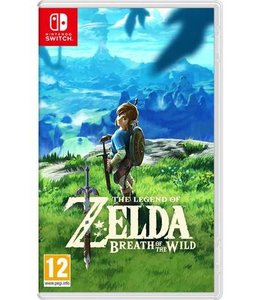 "Nintendo Zelda Switch "" Breath of the Wild """