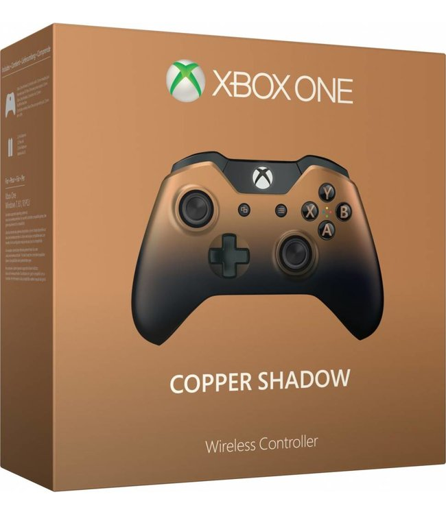 Microsoft Manette Xbox One : Copper Shadow