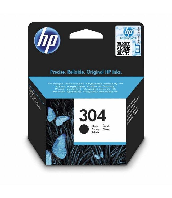 HP Cartouche HP 304 Noir