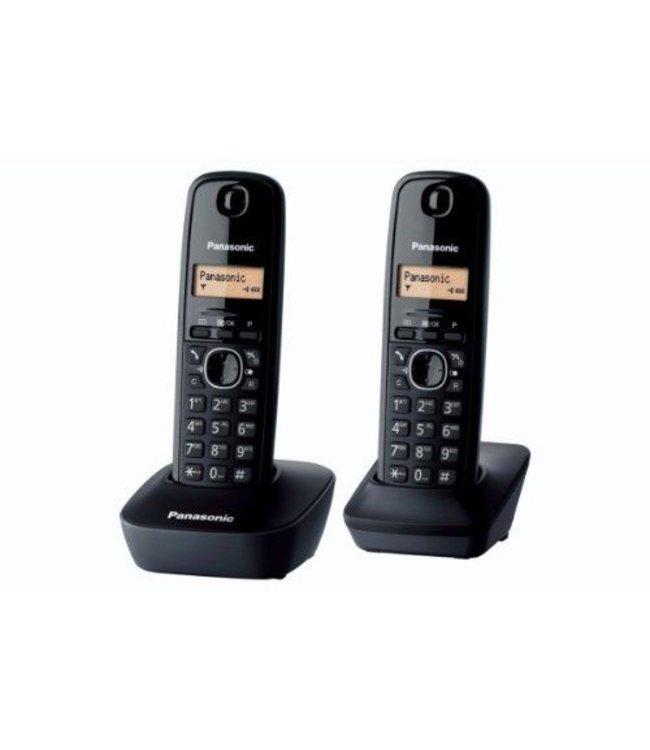 Panasonic Téléphone Fixe Panasonic DUO Noir