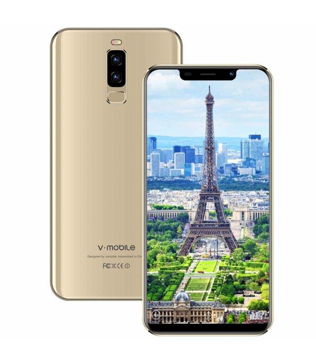 V-Mobile V-Mobile S9 16Go ROM 5,85 Pouces HD+ Gold