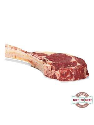 Dry Aged vlees van Weiderund Dry Aged Tomahawk Weiderund - 800gr