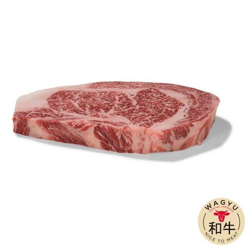Japanse Wagyu - Het meest exclusieve rundvlees van de wereld Japanse Wagyu Ribeye A3 - 500gr (4 pers.)