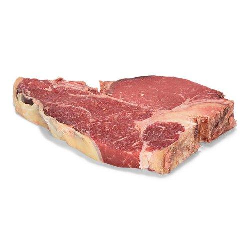 Dry Aged vlees van Weiderund T-Bone Dry Aged Weiderund - 500 gr