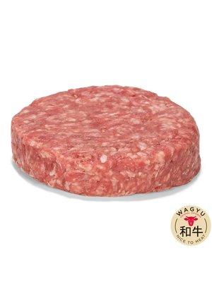 Japanse Wagyu - Het meest exclusieve rundvlees van de wereld Black Wagyu Hamburger (25% Japanse Wagyu) - 200gr