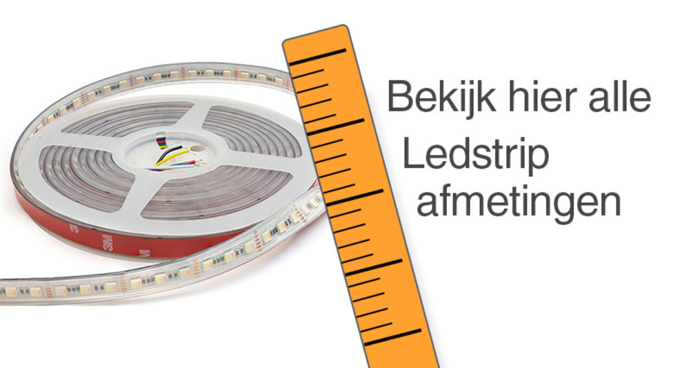 LED Strip afmetingen