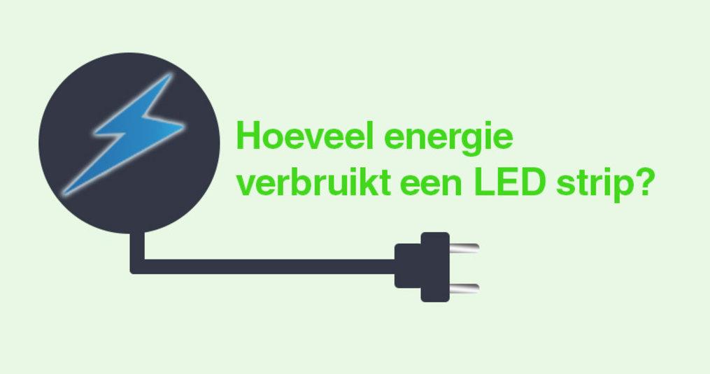 Energieverbruik van een LED Strip