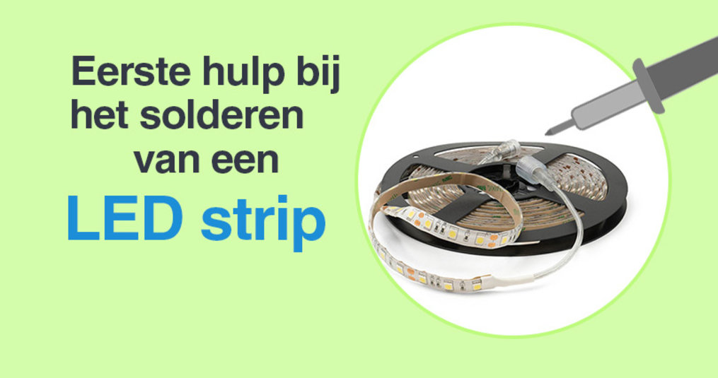 LED Strip solderen