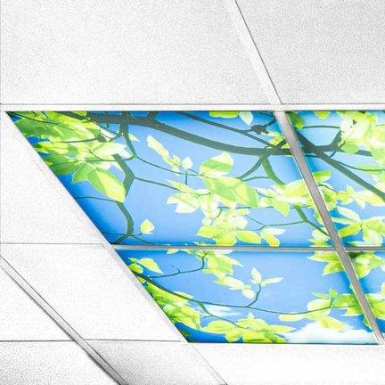 LED Panelen wolken plafond