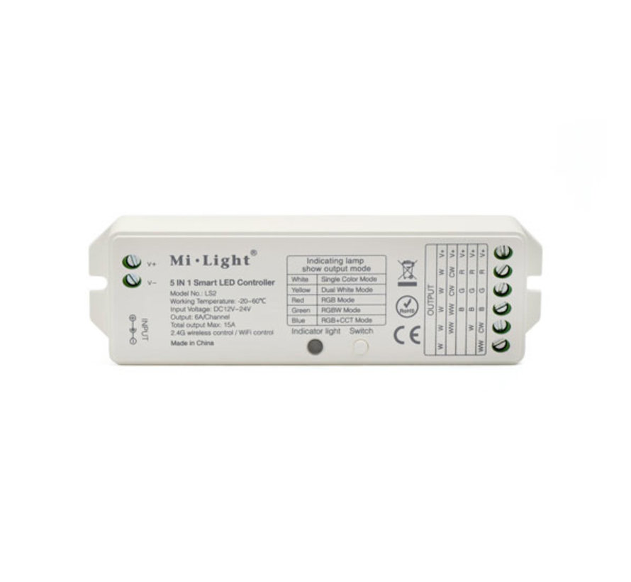 LED Strip Controller 8-zone