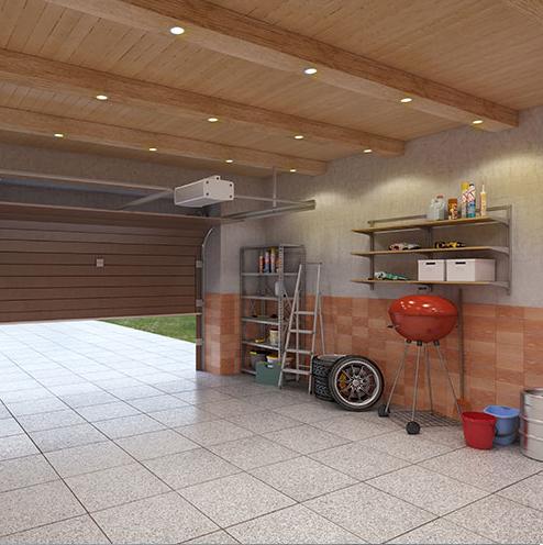garage led spots