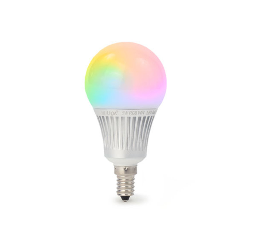 LED Lamp E14 RGBWW / RGB+CCT WiFi