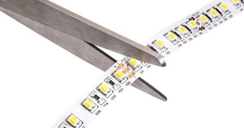 LED strip knippen