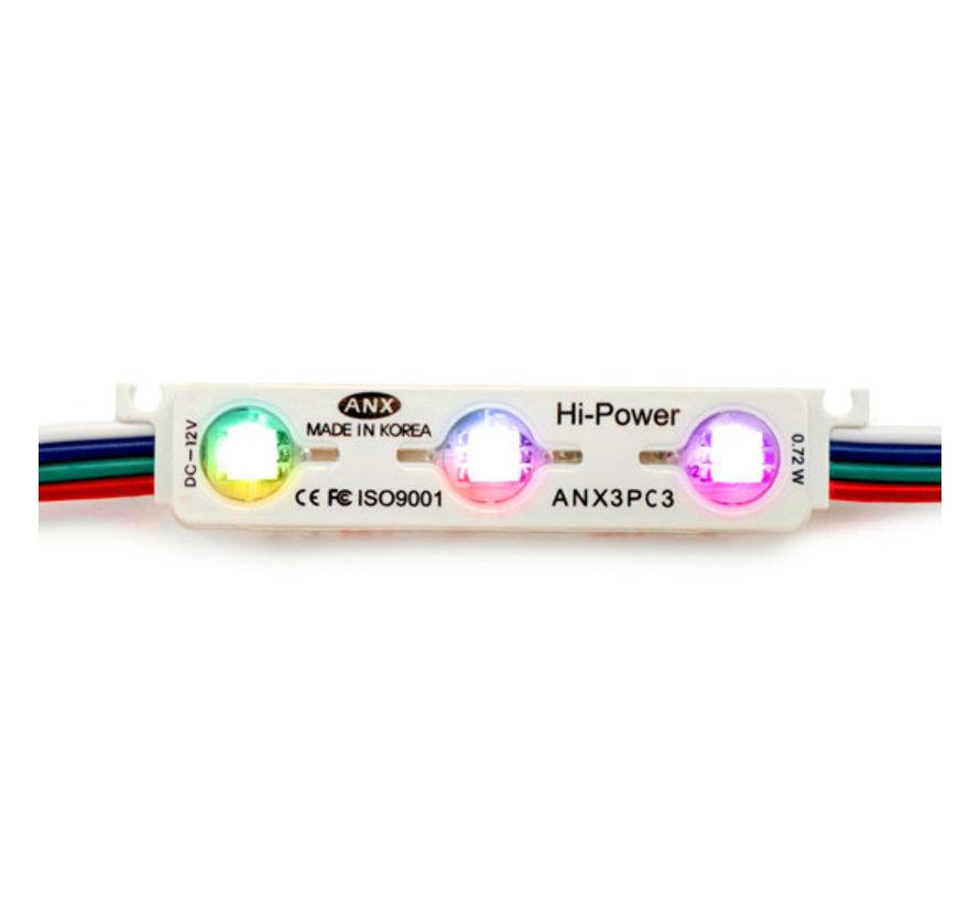 LED Module | RGB | 1,2W | 12V [50 Pack]
