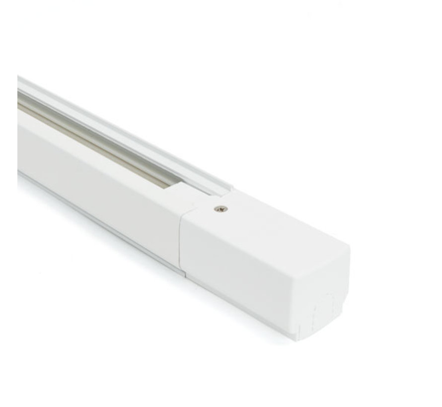 LED Railverlichting Voedingsconnector | Zwart & Wit