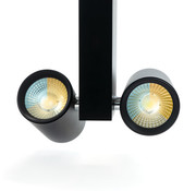 PURPL LED Railverlichting Dubbele Spot | 3 fase | CCT