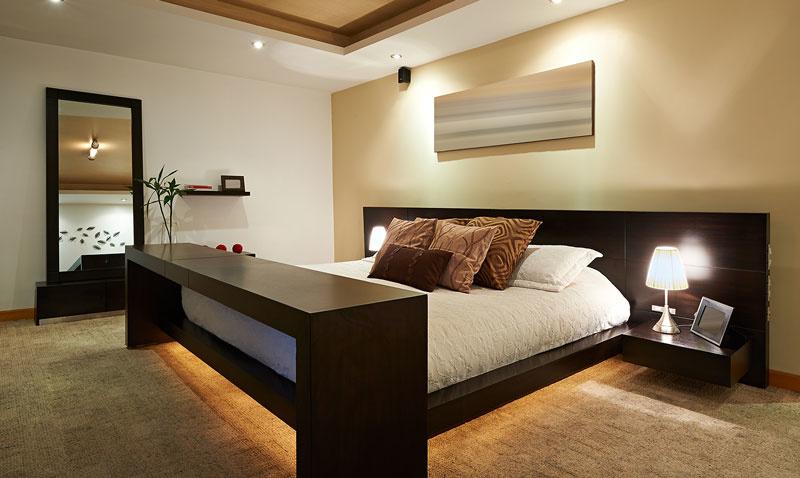 led strip bed