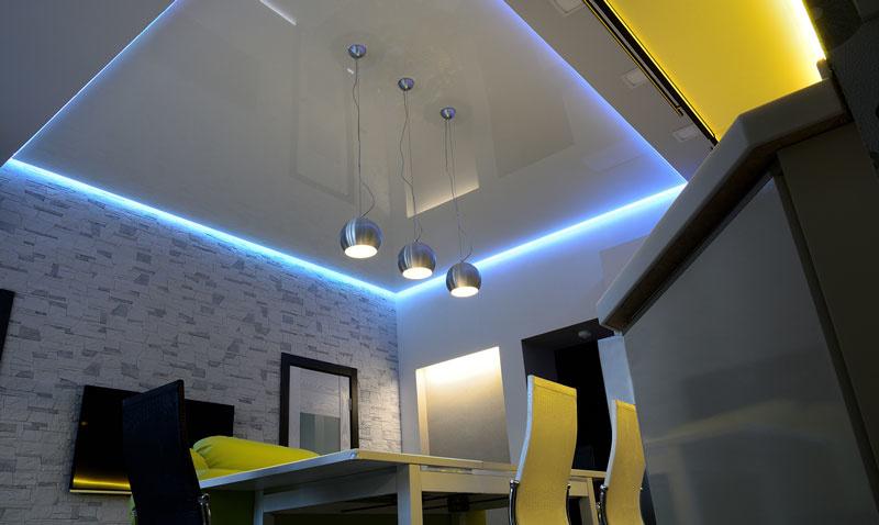 creatief led strips koofverlichting