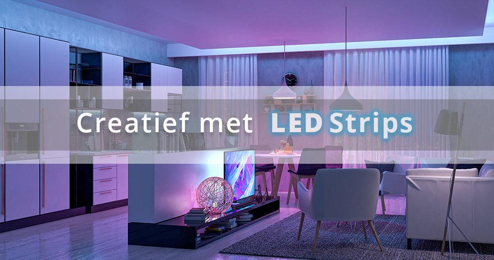 Creatief met LED strips: 8 Tips