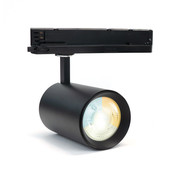 PURPL LED Railverlichting Spot | Zwart & Wit | 35W | 3-fase | CCT