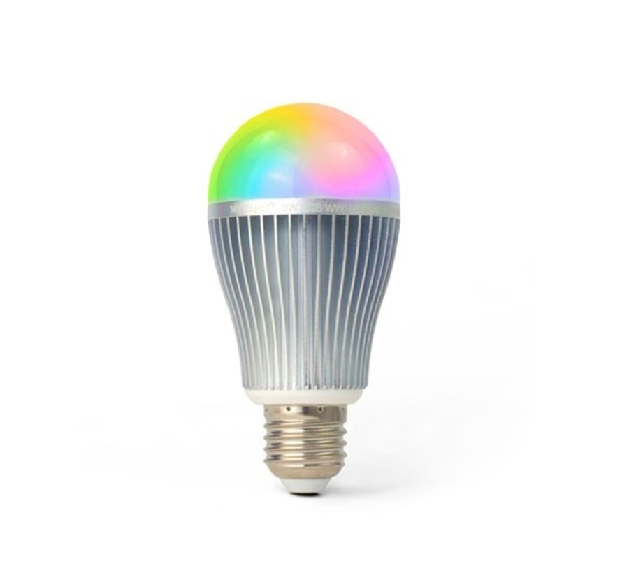 LED Lamp E27 RGBWW / RGB+CCT WiFi 9W