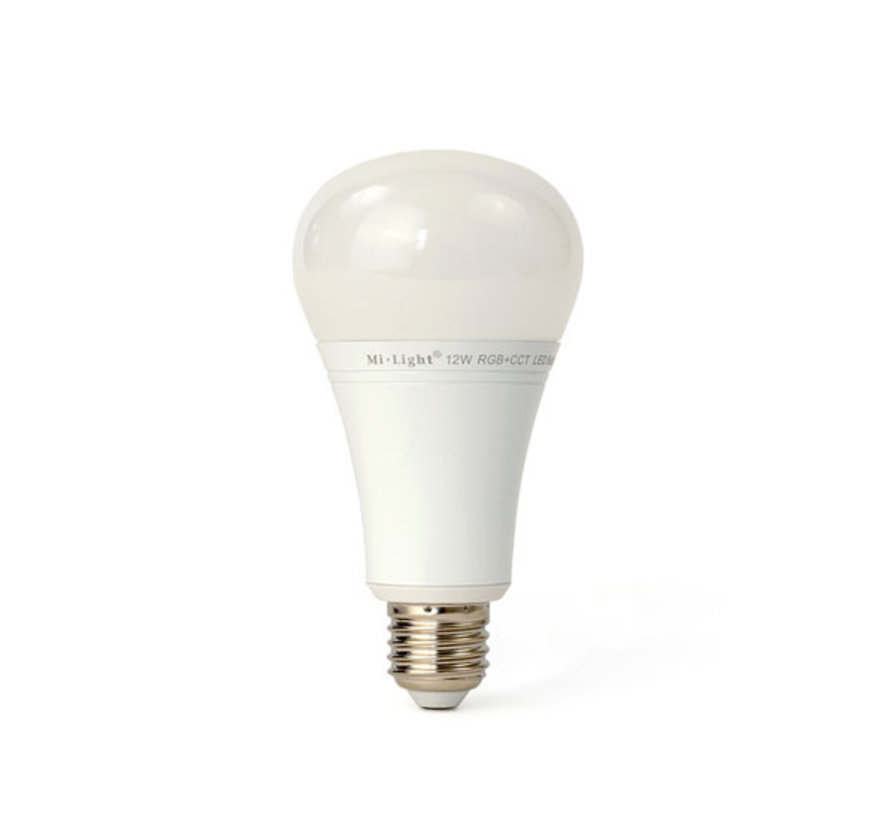 LED Lamp E27 RGBWW / RGB+CCT WiFi 12W