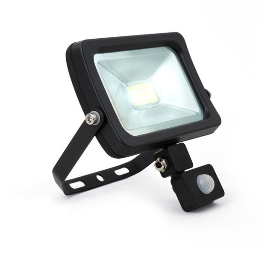 LED Bouwlamp Floodlight met Sensor   30W   Warm-, Helder- en Koud wit
