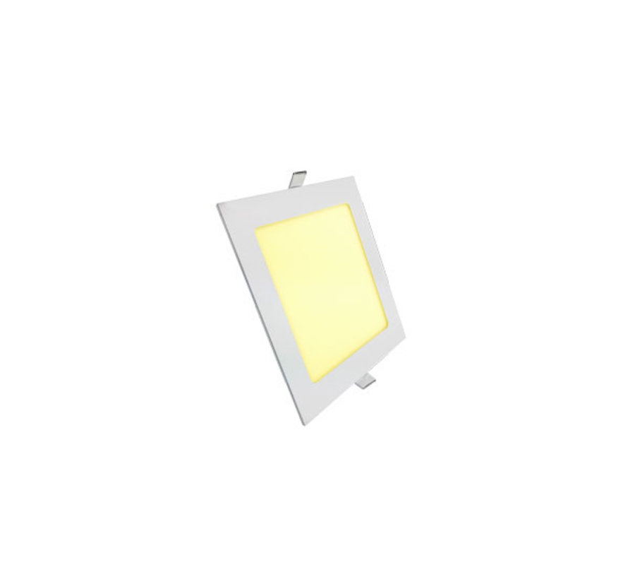 LED Downlight | Vierkant | Inbouw | Warm-, Helder- en Koud Wit | 6W | 120mm