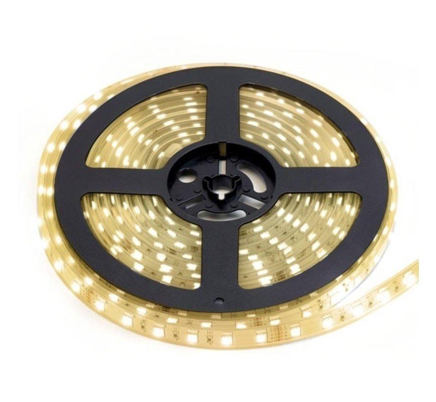 LED Strip Warm Wit | IP68 Waterdicht | 60 Leds p/m | 10 meter | 12V - 24V