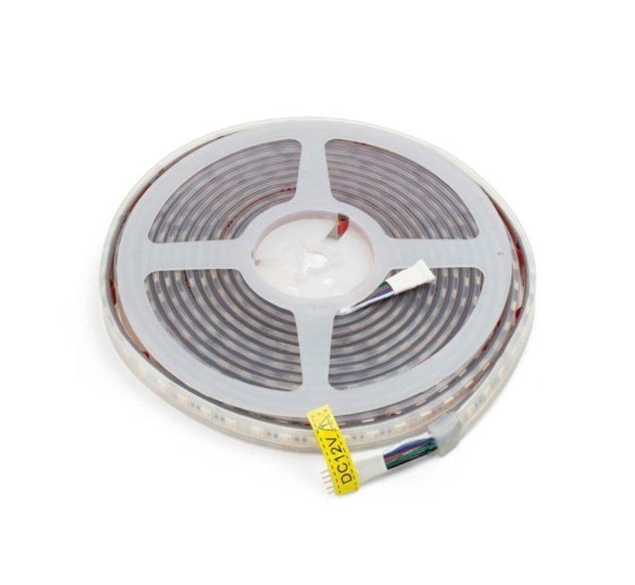 RGBW LED Strip    IP68 (waterdicht)   20 Meter (4x 5 meter)   12V - 24V   Alle kleuren + Warm wit