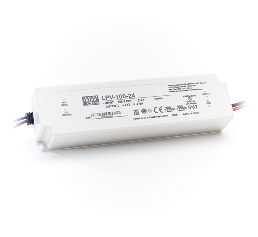 LED Driver Meanwell Voeding 150W   12V - 24V   10A - 6,25A