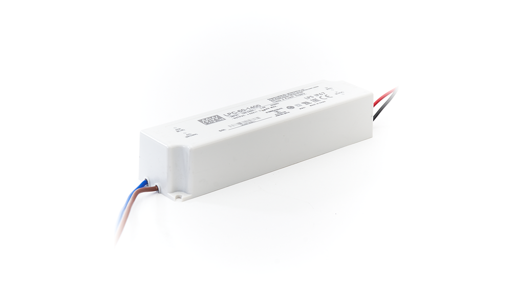 LED Driver Meanwell Voeding 60W   42V   1,4A   Voor 60x120 LED Panelen