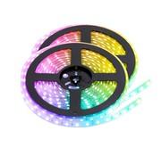 PURPL RGB LED Strip | IP20 (voor binnen) | 10 Meter | 12V - 24V | Alle kleuren instelbaar