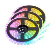 PURPL RGB LED Strip | IP20 (voor binnen) | 15 Meter | 12V - 24V | Alle kleuren instelbaar