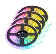 PURPL RGB LED Strip | IP20 (voor binnen) | 20 Meter | 12V - 24V | Alle kleuren instelbaar
