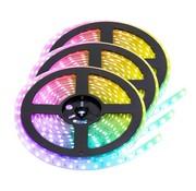 PURPL RGB LED Strip | IP68 (waterdicht) | 15 Meter | 12V - 24V | Alle kleuren instelbaar