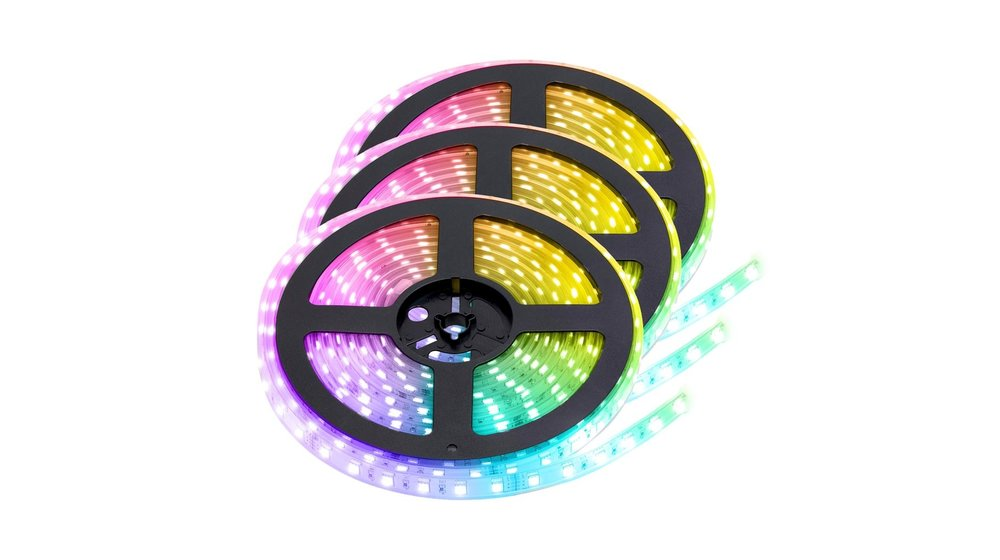 RGBW LED Strip  | IP20 (voor binnen) | 15 Meter (3x 5 meter) | 12V - 24V | Alle kleuren + Warm wit