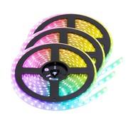 PURPL RGB+CCT LED Strip  | IP20 (voor binnen) | 15 Meter | 12V - 24V | Alle kleuren + wit