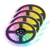 PURPL RGB+CCT LED Strip  | IP20 (voor binnen) | 20 Meter | 12V - 24V | Alle kleuren + wit