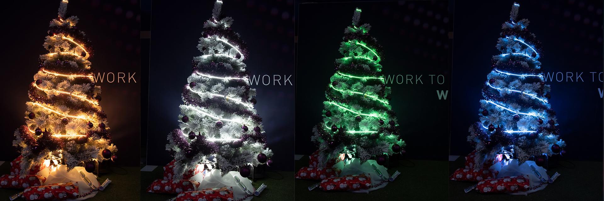 Kerstbomen Ledstrips