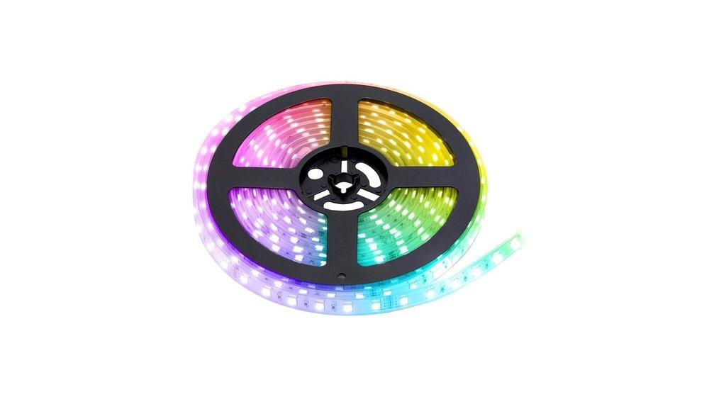 RGB+CCT LED Strip   IP68 (waterdicht)   5 Meter   12V   Alle kleuren + wit