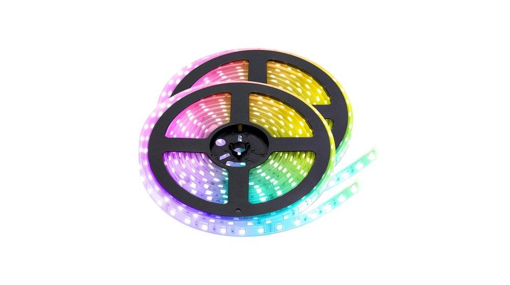 RGB LED Strip | IP68 (waterdicht) | 10 Meter (2x 5 meter) | 12V | Alle kleuren instelbaar