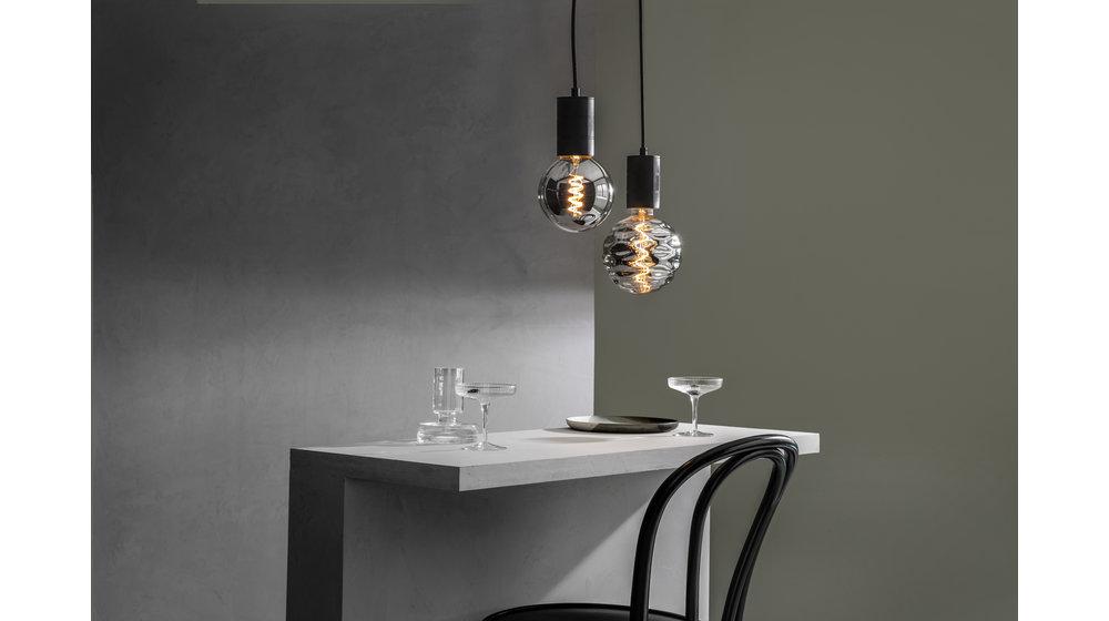 Bilbao Titanium LED Filament | 4W | E27 | 2100K
