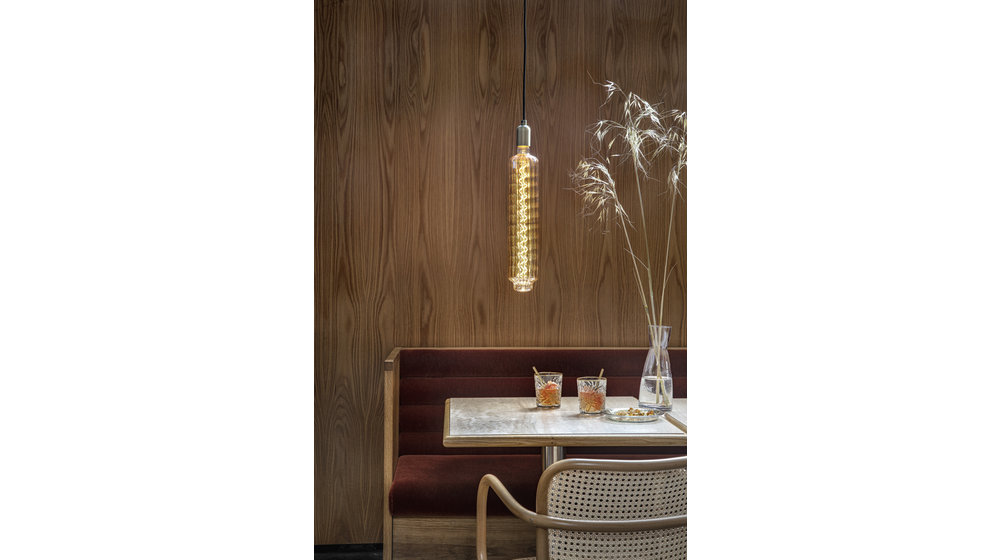 XXL Lidingo Gold LED Filament   6W   E27   2100K