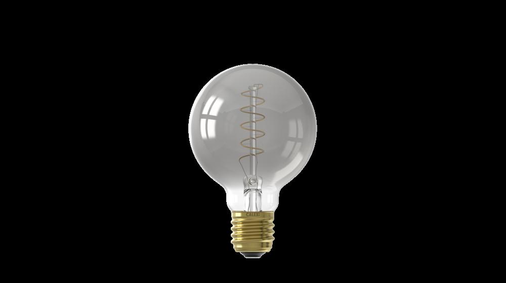 Globe Titanium G80 LED Filament Lamp   4W   E27   2100K